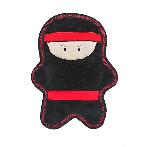 ZippyPaws ZP814 Warriorz Nobu The Ninja Squeak -