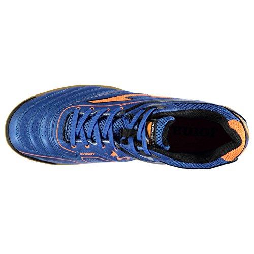 Joma - Botas de fútbol de Material Sintético para hombre Blue/FluOrange