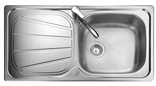 Rangemaster BL9501/ Baltimore Kitchen Sink, Stainless