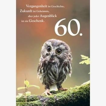 Geburtstag spruch 60