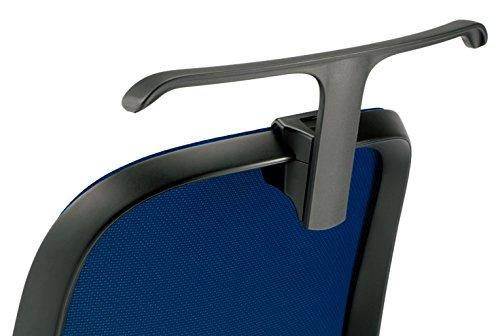 プラス デスクチェア オフィスチェア フィータ fita 専用 ジャケットハンガー HG-FT-BK 657-699 B06XD3W33D  ブラック
