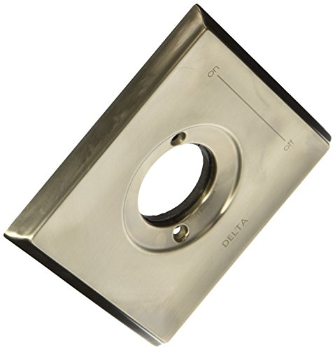 Delta RP52588SS Dryden Tub and Shower Escutcheon, Stainless by DELTA FAUCET