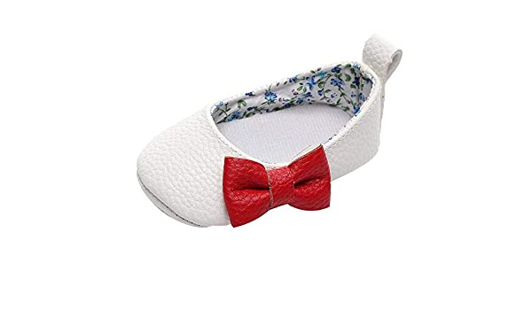 YanHoo Zapatos para niños Bebé Boca Baja Arco Zapatos de ...