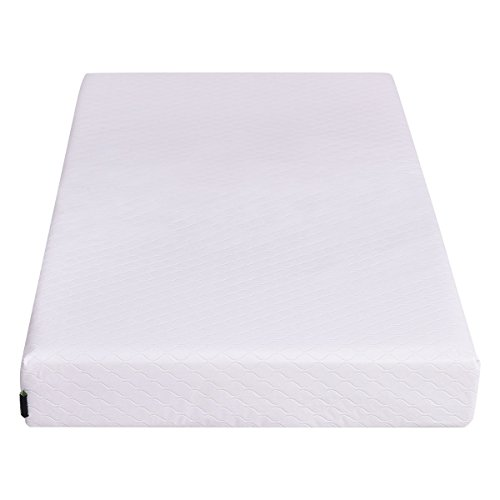 Giantex Memory Foam Baby Crib Mattress Toddler Infant Comfort Removable Waterproof Cover, 52
