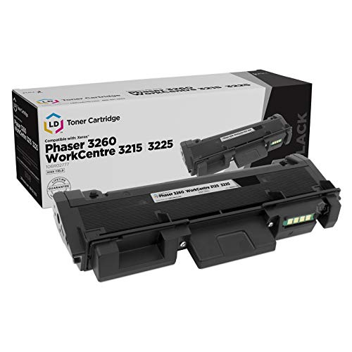LD Compatible Toner Cartridge Replacement for Xerox 106R02777 High Capacity (Black)