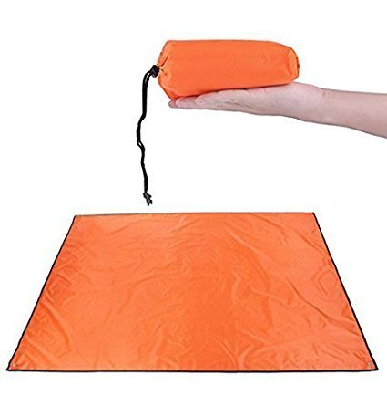 7Ft Canvas C&ing Tarp Waterproof Picnic Mat for Under Tent Footprint Large Ultralight with Drawstring Carrying  sc 1 st  Amazon.com & Amazon.com: 7Ft Canvas Camping Tarp Waterproof Picnic Mat for ...