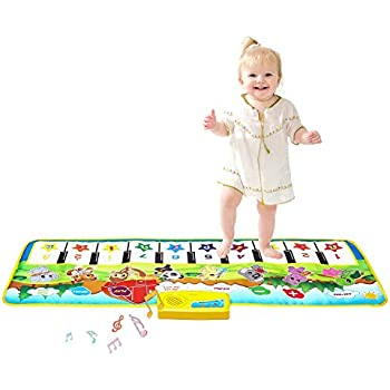Baby Music Carpet Mat Funny Piano Keyboard Playmat Educational Toy For Kid 3+@MT