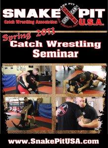 Catch Wrestling Snake Pit U.S.A. Spring 2013 Seminar DVD