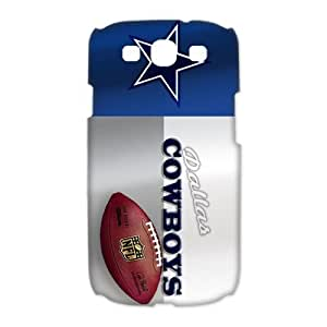 Godstore 2014 New Style NFL Dallas Cowboys Logo Cover Hard Plastic SamSung Galaxy S3 I9300/I9308/I939 Case Kimberly Kurzendoerfer