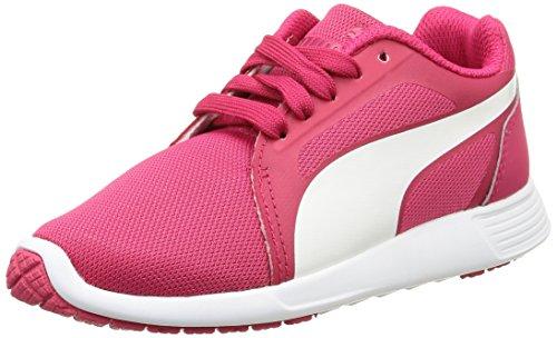 Puma St Trainer Evo - Zapatillas de deporte Niños Rojo - Rouge (Rose Red/White)