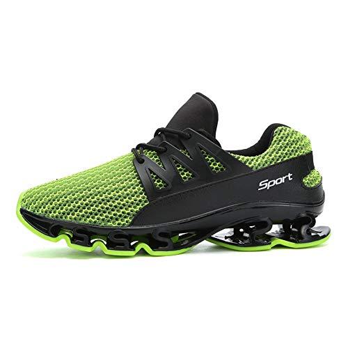 ALLAK Men's Casual Sneakers Lightweight Breathable Walking R