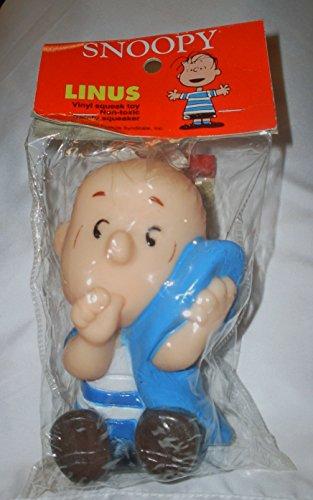 peanuts-linus-van-pelt-vinyl-squeak-toy-snoopy-friend