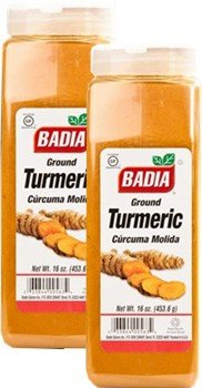 Badia Turmeric Ground Pack of 2 by Badia