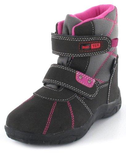 Winter Klein Grau Kinder Mädchen Slam Tex Stiefel Indigo wPkXnON80