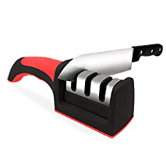 Fast knife sharpener ,with the tungsten steel technology ,turn the traditional single-side to the simultaneously double -side sharping to greatly improve the sharping speed. The unique angle makes the grinded cutleries to be moved more sharp ...
