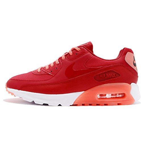 Nike Women's Air MaX 90 Ultra Essential University Red/White 724981-602 (Size: 8)