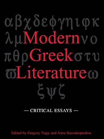 modern greek literature Modern greek literature modern greek literature refers to literature written in the greek language from the 11th century, with texts written in a language.