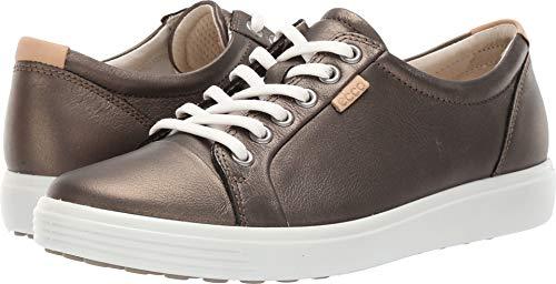 Soft Stone (ECCO Women's Soft 7 Sneaker, Black Stone Metallic, 42 M EU (11-11.5 US))