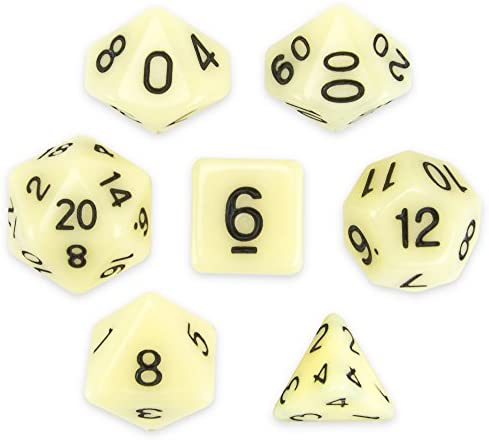 Wiz Dice Polyhedral Colored Tabletop product image