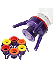 (6 Pack) Bottle Emptying Stand Kit - Get Every Last Drop Out Honey, Condiments & Beauty Products