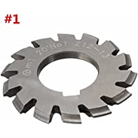 TTC 16 D//P x Cutter # 8 14-1//2° PA HSS Involute Gear Cutter