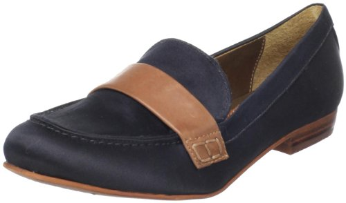 Sam Edelman Women's Emilio Slip-On Loafer,Black Satin,7.5 M US by Sam Edelman