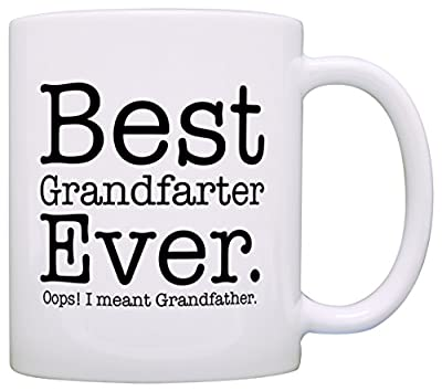Birthday Gift for Grandpa Best Grandfarter Ever Gag Gift Coffee Mug Tea Cup