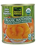 Native Forest 100% Organic Whole Mandarin Oranges 10.75 oz. (Pack of 6)