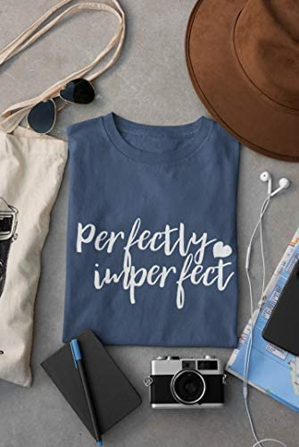 CATEEOP Women's Perfectly Imperfect Short Sleeve Tee Design Crewneck T-Shirt