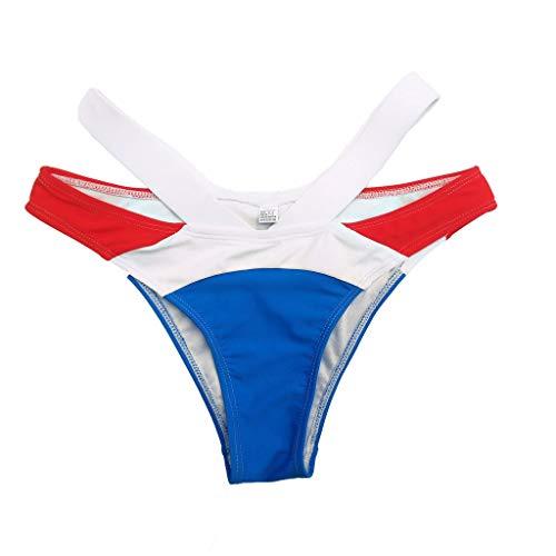 Longra Bikini brasileño para bebé de fútbol Femenino, Sujetador con Relleno Push-up Que Teje un Traje de baño sólido: Amazon.es: Ropa y accesorios
