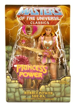 (HeMan Masters of the Universe Classics Exclusive Action Figure Bubble Power)