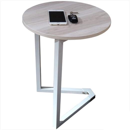 Folding table Nan Pequeño Escritorio de la Mesa de Centro Blanca ...