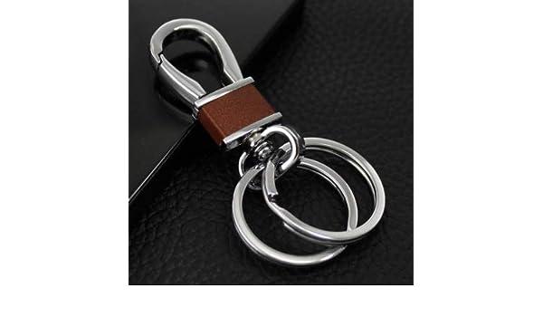 Amazon.com: Lannmart Luxury Simple Mens Leather Waist ...