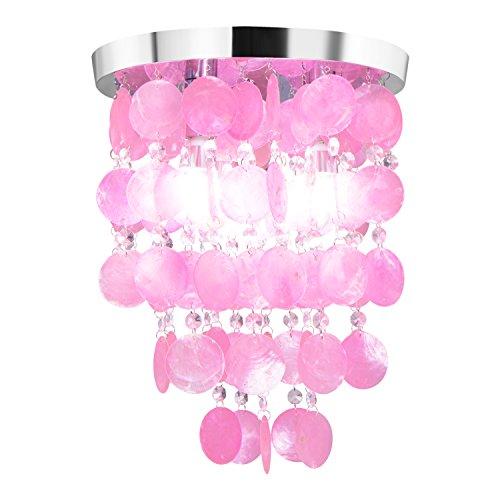 Pink Crystal Pendant Light - 2
