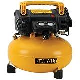 Dewalt DWFP55126R 0.9 HP 6 Gallon Oil-Free Pancake Air Compressor (Certified Refurbished)