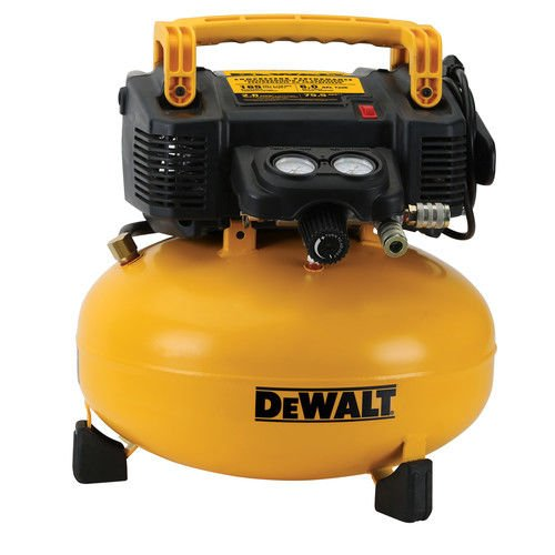 Dewalt DWFP55126R 0.9 HP 6 Gallon Oil-Free Pancake Air Compressor (Certified Refurbished) by DEWALT