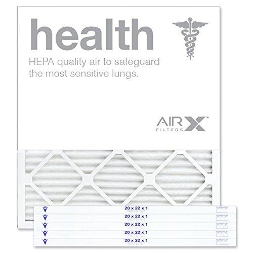 "20"" X 22"" X 1"" MERV 13 Pleated Furnace Filter, 6-Pack"