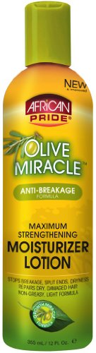 African Pride Olive Miracle Maximum Strengthening Moisturize