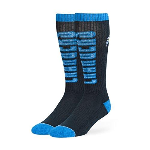 NFL San Diego Chargers Men's Warner Sport OTC Socks, Medium, Light Navy
