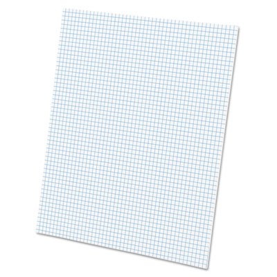 AMPAD Corporation Products - 2-Sided Quadrille Pads, Ruled 5x5Sq/Inch, 50 Sht, 8-1/2''x11'', WE - Sold as 1 PD - Quadrille pad is printed on two sides in nonreproducible blue ink so you can align your figures, copy and create a graph-free presentation. Idea