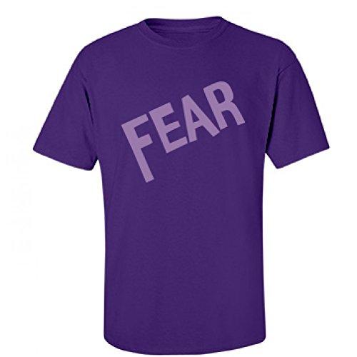 [Fear Adult Costume: Unisex Fruit of the Loom T-Shirt] (Heavyweights Halloween Costume)