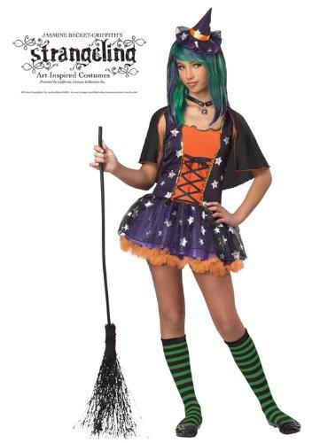 Strangeling Twilight Witch Tween Costume (Large) (Girls Twilight Witch Costume)