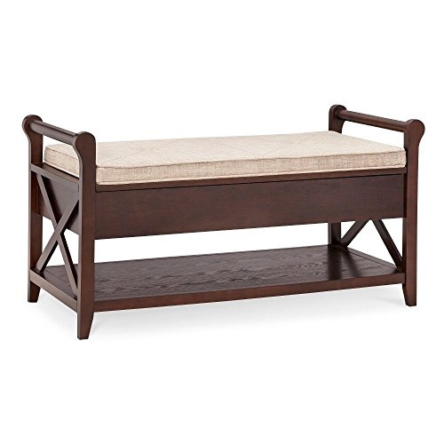 Vincent Entryway Bench Wood - Threshold BROWN 15150422