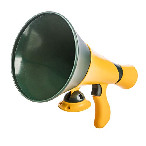 (Jack and June Green Megaphone for Outdoor Playsets, Wooden Jungle Gyms, and Residential Playgrounds)