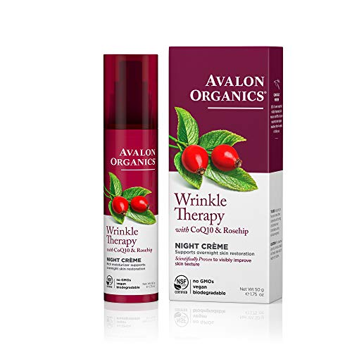 Avalon Organics Wrinkle Therapy Night Crème