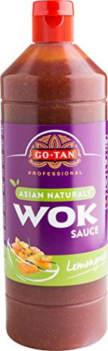 Go-Tan originele Wok citroengras saus, 1 liter, 6 stuks