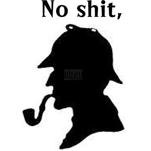 riley-company-funny-bones-cling-mounted-stamp-2-by-125-inch-sherlock-holmes
