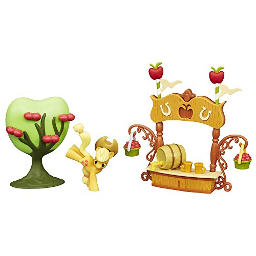 - My Little Pony Friendship is Magic Collection Sweet Apple Juice Stand Set