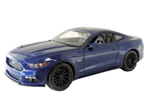 2015 Ford Mustang GT 5.0 Blue 1/18 by Maisto - Mustang Blue