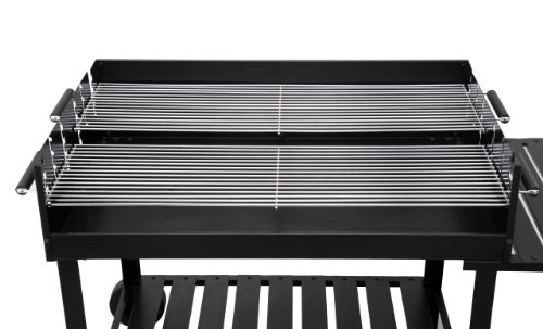 Tepro Holzkohlegrill Toronto Kompakt : Sunjas holzkohlegrill grillwagen outdoor reisegrill bbq